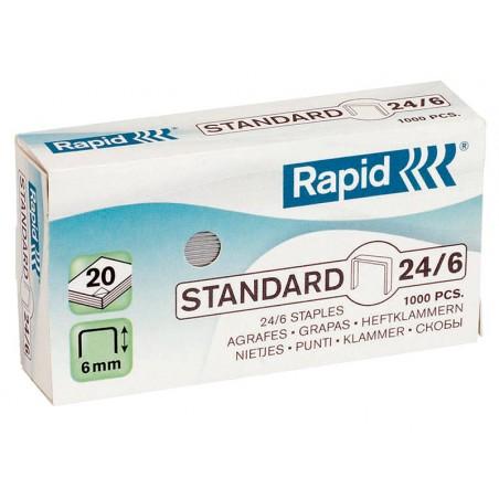 CAPSE  RAPID 24/6 GALVANIZATE
