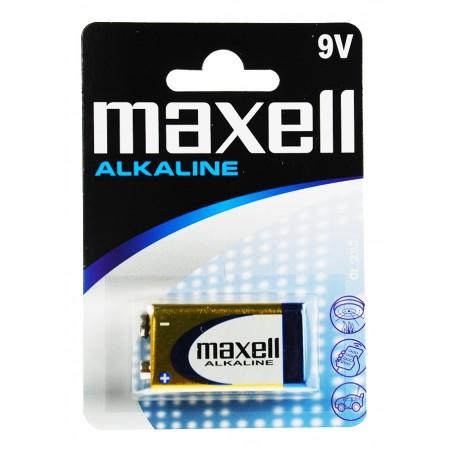 MAXELL BATERIE ALCALINA 9V...