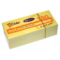 NOTITE ADEZIVE FOLDER 38X51...